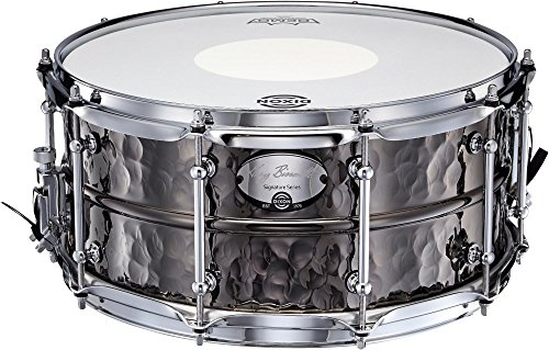 Dixon Gregg Bissonette Hammered Brass Signature Snare Drum 14 x 6.5 in. by Dixon
