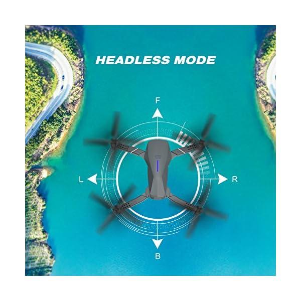 EACHINE E520 Drone 4K Telecamera 2.4GHz Pieghevole Drone con WiFi FPV App Mobile Controllo Grandangolare 5 spesavip