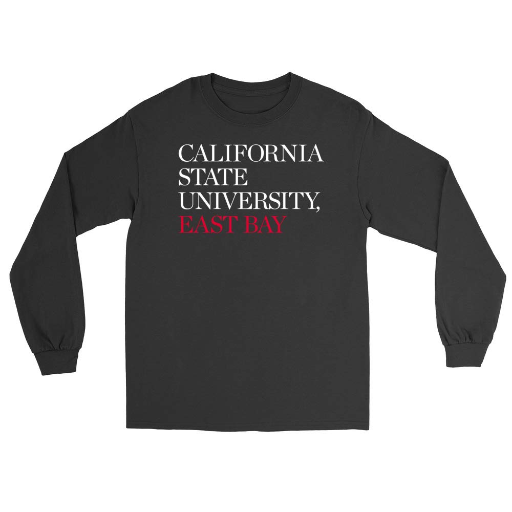 East Bay Pioneers PPCSE03 Mens//Womens Boyfriend Long Sleeve Tee Official NCAA California State University