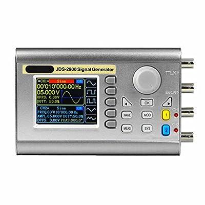 Baoblaze Digital Control Dual-channel DDS Function Signal Generator Frequency Meter Arbitrary Sine Waveform 30MHz