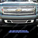 08 chevy silverado grill insert - 2007-2013 Chevy Silverado 1500 Stainless Steel Mesh Grille Grill Insert # C75766T