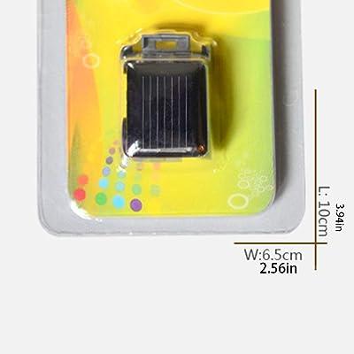 JIY Solar Car World's Smallest Solar Powered Car Educational Solar Powered Toy: Office Products