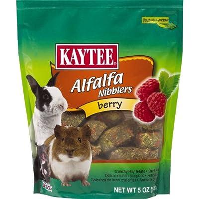 Kaytee Nibblers Berry Small Animal Treats, 5-oz bag from Kaytee