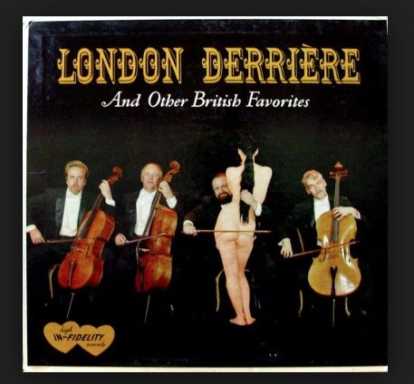 Price comparison product image London Derriere & Other British Favorite