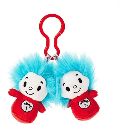 Hallmark Dr. Seuss Thing 1 and Thing 2 itty bittys Clippys Stuffed Animals Itty Bittys Movies & TV