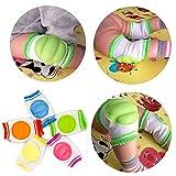 Baby Knee Pads, 5 Pairs Elastic Anti-Slip
