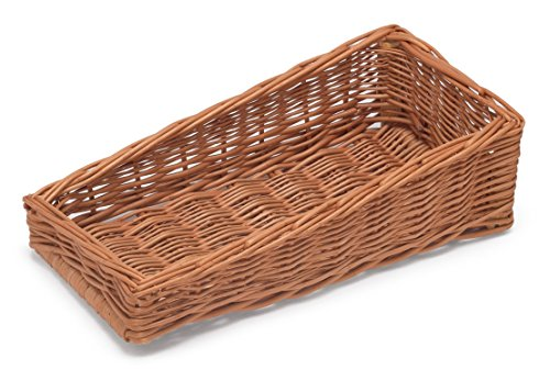 Prestige Wicker Sloping Display Basket Style III, Natural