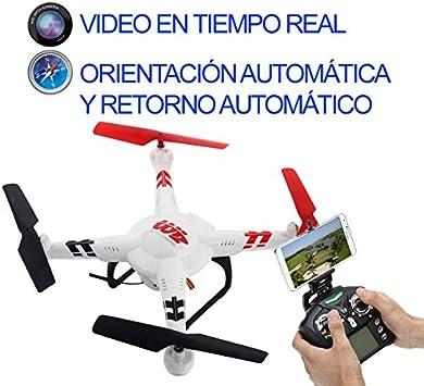 Drone FPV V686K con Video en Tiempo Real a Smartphone: Amazon.es: Juguetes y juegos