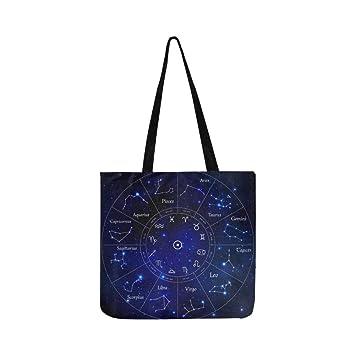 Zodiac Balance Leo Scorpion Constellations Sac Fourre Tout Vierge Lj54AR