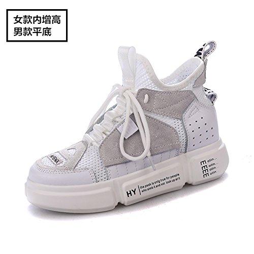 Respirant Nouvel Les dans Augmentent Été Chaussures Universel blanc Sport De QQWWEERRTT Mode Femme wUBqxSWa1