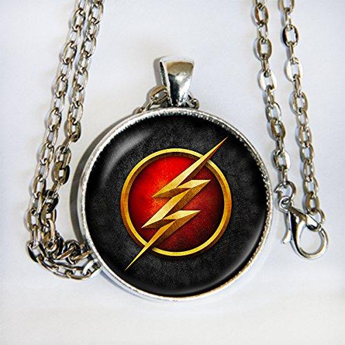 Arrow Firestorm Costume (The Flash TV series inspired logo Pendant Necklace - HM)