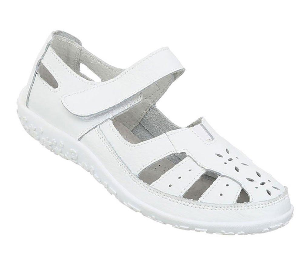 0d9ea1fc9b7b1d NVLXIE Damen Sandalen Sommer Poe Rom Niet Cool Stiefel Dew Toe Studenten  Schul Shopping Zwei Farben 5cm 35