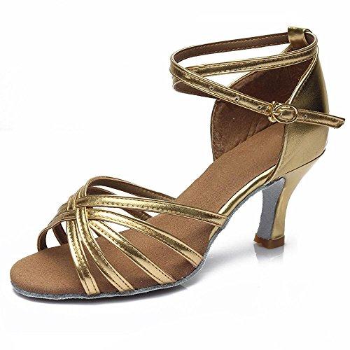or YFF d'Amérique Chers Bal danse latine des Chaussures talons professionnelle de femmes 6 7CM rw1rYPSq