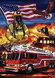 Cheap NEW American Firefighter 28″x40″ Art Flag