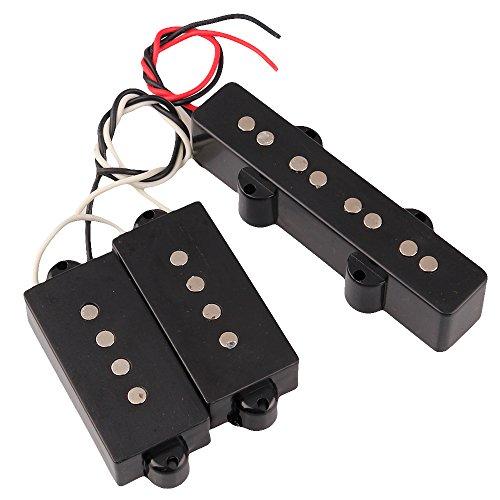 Set of PB Bridge Pickup PB Neck Pickup for 4 String JB Bass Jazz ()