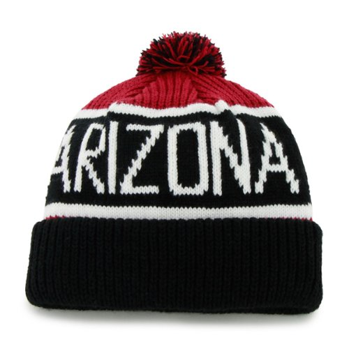 5f73366e4 '47 Brand Calgary Cuff Beanie Hat with POM POM - NFL Cuffed Winter Knit  Toque Cap