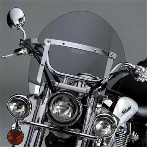 National Cycle SwitchBlade Windshield Shorty Tint (ea) for Honda and Yamaha Metric Cruisers -