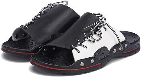 Zapatillas de playa transpirables para hombre, de verano, cómodas, para exteriores, moda y al aire libre, talla grande 38-48: Amazon.es: Deportes y aire libre