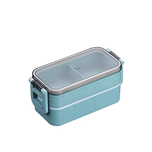 JJINX Microondas Bento Box Trigo Paja Lonchera Infantil Vajilla ...