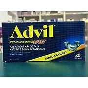 Advil Liquid Capsules, 20 count