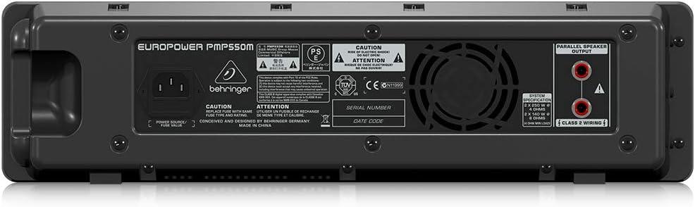 Behringer PMP550M - Pmp550 m mezclador amplificado pmp-550 m und ...