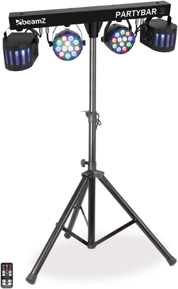 beamz Derby FX LED Party Bar Light PAR All In One Disco Stage Band Lighting System