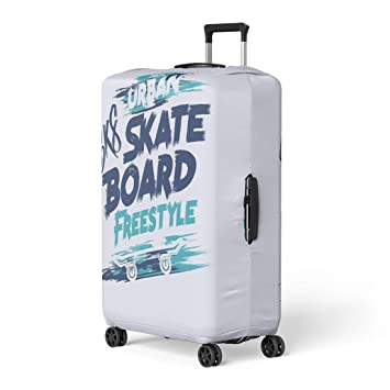 3c5ebc6c6e2a Amazon.com: Pinbeam Luggage Cover Skater of Skateboard and ...