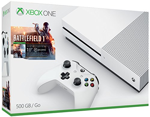51fLf4t7QoL - Xbox One S 500GB Console - Battlefield 1 Bundle [Discontinued]