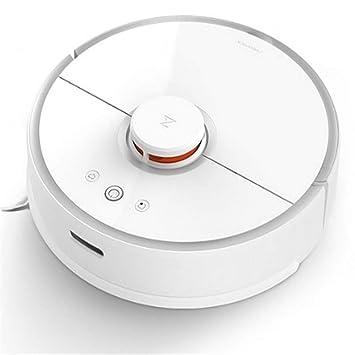 SXGRDBD Robot Aspirador Limpieza planificada Inteligente para el hogar APLICACIÓN WiFi Control Barrido automático y trapeador de Lavado húmedo, ...