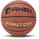 And1 Fantom Street Basketball, Official Size 7/29.5'' & Indoor/Outdoor