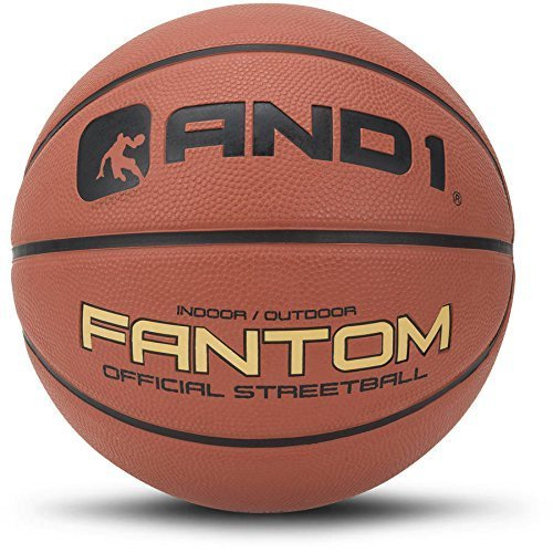 And1 Fantom Street Basketball, Official Size 7/29.5'' & Indoor/Outdoor by AND1