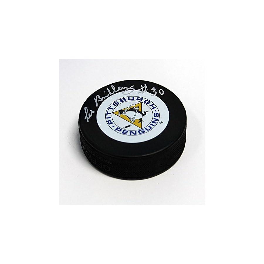Les Binkley Autographed Puck Autographed NHL Pucks
