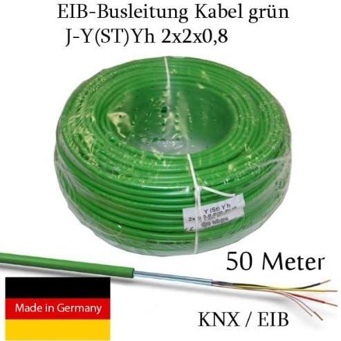 0,42€//m 50m J-Y St Y 2x2x0,8 Telefonleitung Klingelleitung Fernmeldeleitung ISDN