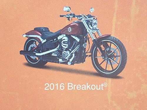 2016 BREAKOUT HARLEY DAVIDSON MOTORCYCLE RED MAISTO SERIES 35 RARE 1/18 MODEL