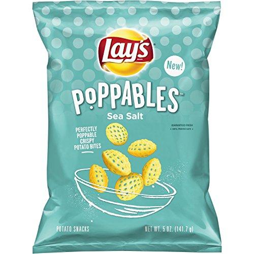 Lay's Poppables Sea Salted Potato Snacks, 5 Ounce