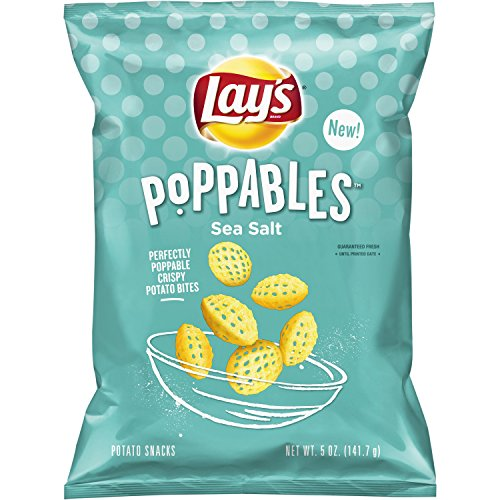 Lay's Poppables Sea Salted Potato Snacks, 5 Ounce