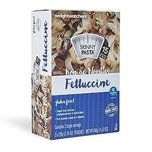 Amazon Com Weight Watcher Skinny Pasta Fettuccine Two