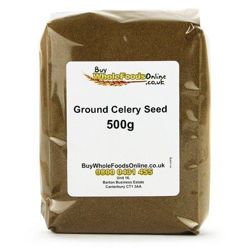 Ground Celery Seed 500g by Buy Whole Foods Online Ltd. by Buy Whole Foods Online Ltd.