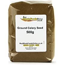 Ground Celery Seed 500g by Buy Whole Foods Online Ltd.