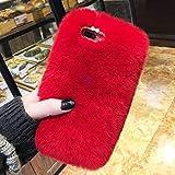 Cfrau Furry Case with Black Stylus for Samsung