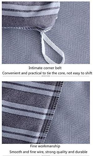 LITING Parure de lit 4 pièces 100% Coton avec Impression Active imperméable et Confortable, 100% Coton, 1.5m 200 * 230cm