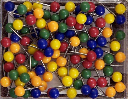 #100 Series Medium Assorted Colors Round - 0.125