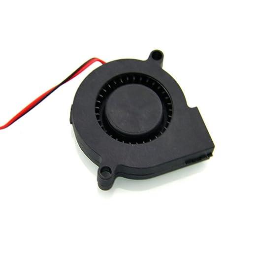 Furobayuusaku Imprimante 3D Pilote de Moteur Pas /à Pas Ventilateur de Refroidissement en Aluminium dissipateur de Chaleur Rouge oxyd/é Rouge M