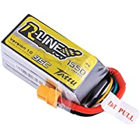 Tattu R-Line 1550mAh 95C 4S1P Lipo Battery for Professional FPV Racing (XT60 Plug)