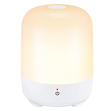 Cymas Touch Lamp, Dimmable Night Light For Bedroom Living Room, Warm White  Table Lamps
