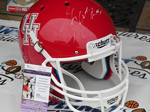 Houston Cougars Signed Helmets | CompareHouston.com