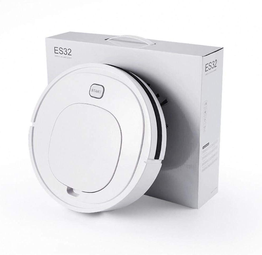 LIUCHANG Robot de Balayage, Machine de Nettoyage Automatique du ménage, aspirateur de Charge USB, Cadeaux, Petits appareils liuchang20 (Color : White) White