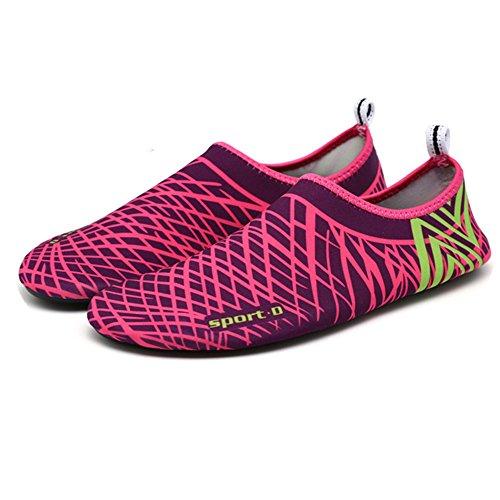 Softance Women Men Swimming Shoes Skin Shoes Socks (2017 Improved Version) (S: US Women 5.5-6/Men 4.5-5=EUR 35-36, - Swim 2017 Skin Best