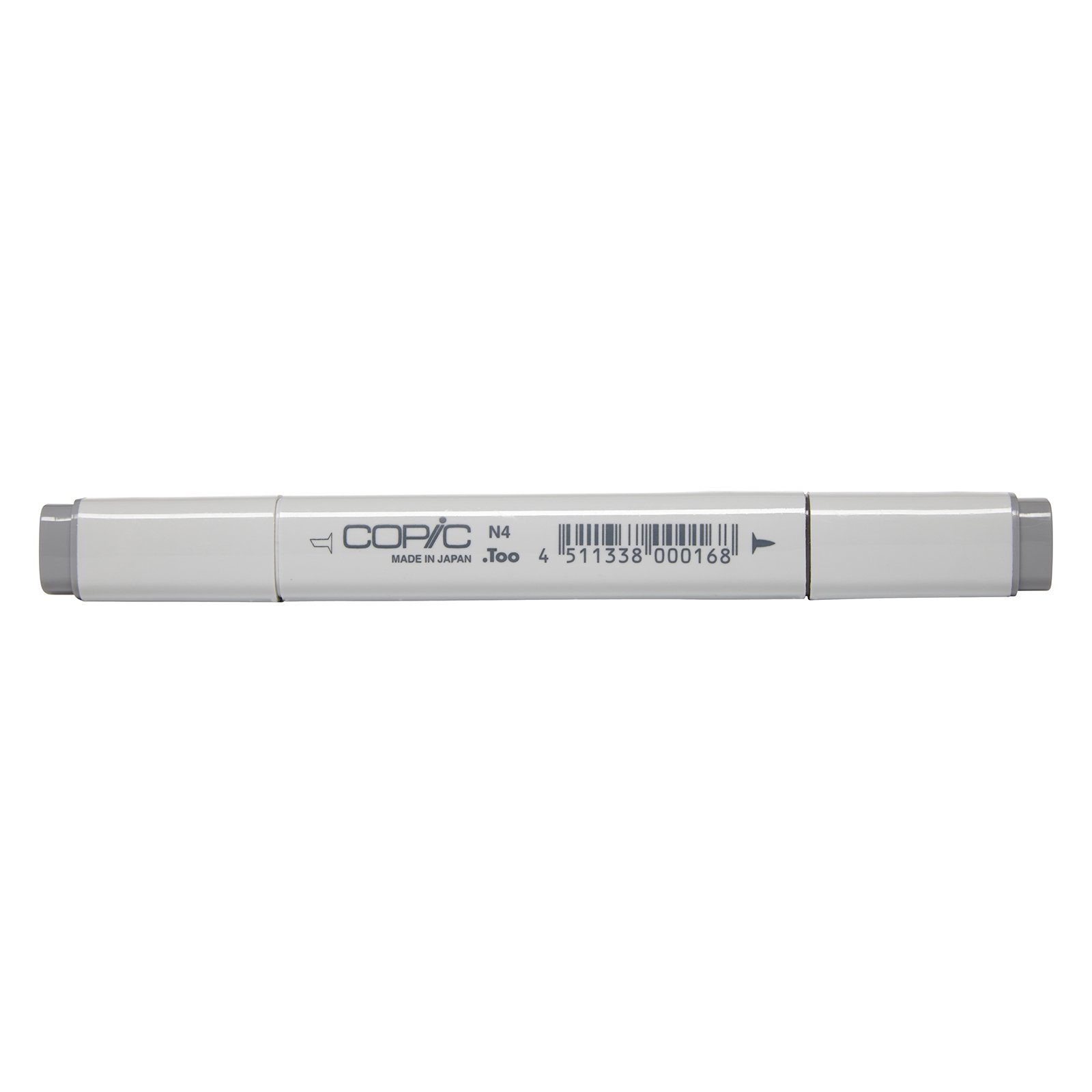 Copic Marker with Replaceable Nib, N4-Copic, Neutral Gray