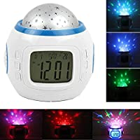 Alarm Clock Children Sleep Clock Color Change Starry...